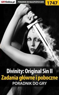 """Divinity: Original Sin II - Zadania główne i poboczne - poradnik - Łukasz """"Keczup"""" Wiśniewski - ebook"""