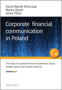 Corporate financial communication in Poland - Karol M. Klimczak - ebook
