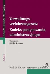 Kodeks postępowania administracyjnego. Verwaltungsverfahrensgesetz. wydanie 2 - Opracowanie zbiorowe - ebook