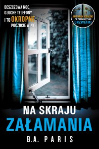Na skraju załamania - B.A. Paris - ebook