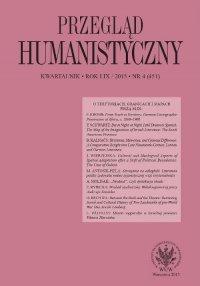 Przegląd Humanistyczny 2015/4 (451)