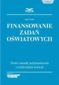 Finansowanie zadań oświatowych - Agata Piszko - ebook
