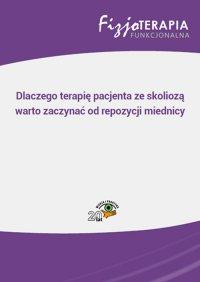 Dlaczego terapię pacjenta ze skoliozą warto zaczynać od repozycji miednicy - Sandra Osipiuk - ebook