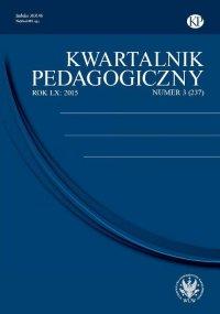 Kwartalnik Pedagogiczny 2015/3 (237)