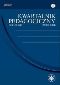 Kwartalnik Pedagogiczny 2016/3 (241)