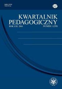 Kwartalnik Pedagogiczny 2016/1 (239)