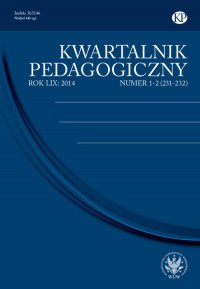 Kwartalnik Pedagogiczny 2014/1-2 (231-232)
