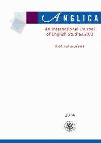 Anglica. An International Journal of English Studies 2014 23/2 - Andrzej Weseliński - eprasa