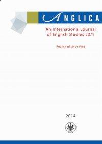Anglica. An International Journal of English Studies 2014 23/1 - Andrzej Weseliński - eprasa