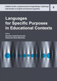 Languages for Specific Purposes in Educational Contexts - Stanisław Goźdź-Roszkowski - ebook