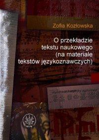 O przekładzie tekstu naukowego