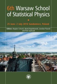 6th Warsaw School of Statistical Physics - Bogdan Cichocki - ebook