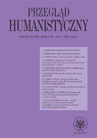 Przegląd Humanistyczny 2017/2 (457)