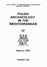 Polish Archaeology in the Mediterranean 4