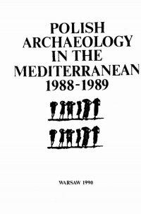 Polish Archaeology in the Mediterranean 1