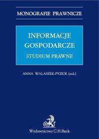 Informacje gospodarcze. Studium prawne