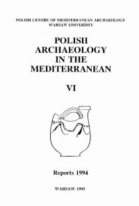 Polish Archaeology in the Mediterranean 6