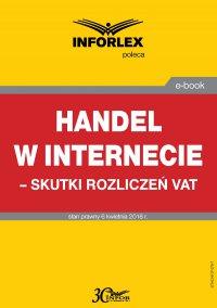Handel w Internecie – skutki rozliczeń VAT
