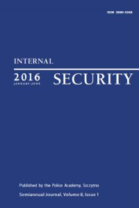 Internal Security (January-June) Vol. 8/1/2016