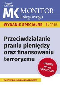 Przeciwdziałanie praniu pieniędzy oraz finansowaniu terroryzmu – nowa procedura - Kamila Grabowska - ebook