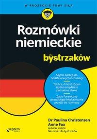 Rozmówki niemieckie dla bystrzaków - Paulina Christensen - ebook