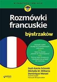 Rozmówki francuskie dla bystrzaków - Dodi-Katrin Schmidt - ebook