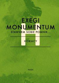 Exegi monumentum. Stawiłem sobie pomnik - Horacy - ebook