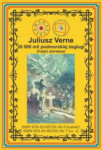 20 000 mil podmorskiej żeglugi. Część 1 - Juliusz Verne - ebook