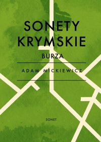 Sonety krymskie - Burza - Adam Mickiewicz - ebook