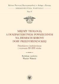 Między teologią a duszpasterstwem powszechnym na ziemiach Korony doby przedtrydenckiej. Tom V - Wacław Walecki - ebook