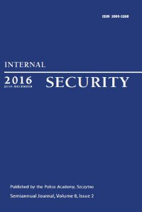 Internal Security (July-December 2016) Vol. 8/2/2016