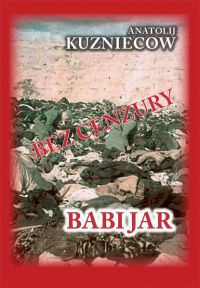 Babi Jar - Anatolij Kuzniecow - ebook