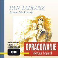 Pan Tadeusz - opracowanie - Adam Mickiewicz - audiobook