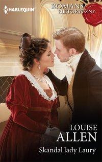 Skandal lady Laury - Louise Allen - ebook