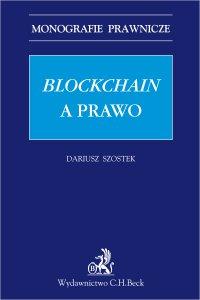 Blockchain a prawo - Dariusz Szostek - ebook