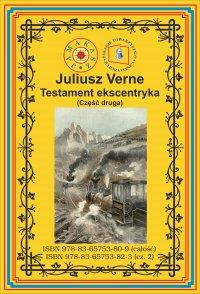 Testament ekscentryka. Część 2 - Juliusz Verne - ebook
