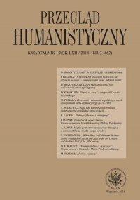 Przegląd Humanistyczny 2018/3 (462) - Filip Mazurkiewicz - eprasa
