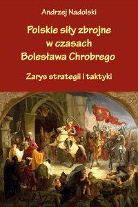 Polskie siły zbrojne w czasach Bolesława Chrobrego. Zarys strategii i taktyki - Andrzej Nadolski - ebook