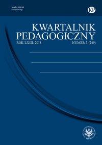 Kwartalnik Pedagogiczny 2018/3 (249) - prof. J. Mirosław Szymański - eprasa