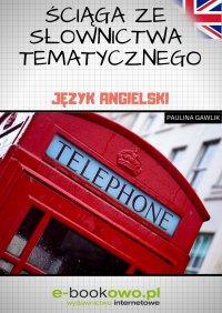 Ściąga ze słownictwa tematycznego. Język angielski - Paulina Gawlik - ebook