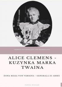 Alice Clemens - kuzynka Marka Twaina - Paweł Wasiak - ebook