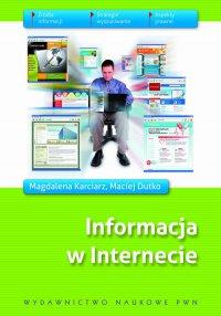 Informacja w Internecie - Maciej Dutko - ebook