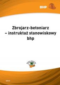 Zbrojarz-betoniarz – instruktaż stanowiskowy bhp