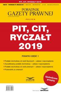 PIT, CIT, Ryczałt 2019  Podatki cz.1