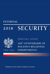 Internal security special issue 100 anniversary of Poland's regaining independence