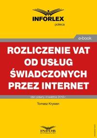 Rozliczanie VAT od usług świadczonych przez Internet
