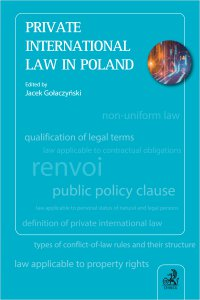 Private International Law in Poland - Jacek Gołaczyński - ebook