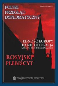 Polski Przegląd Dyplomatyczny, nr 2/2018