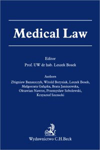 Medical Law - Leszek Bosek - ebook