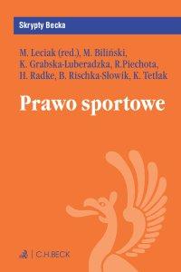 Prawo sportowe - Michał Leciak - ebook